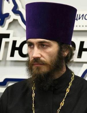 Духовный наставник клуба протоиерей Владимир Ашмарин — благочинный Никольского кафедрального собора г. Ишима